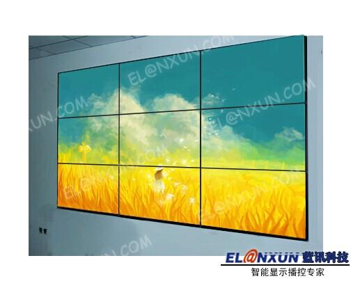 利君制药厂视频监控系统启用西安蓝讯液晶拼接系统