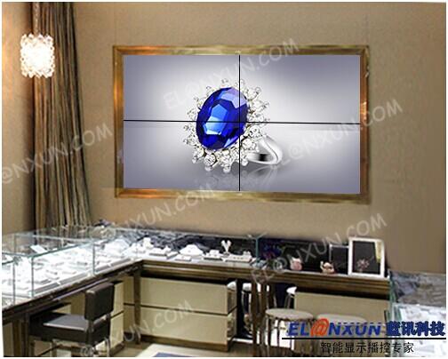弘福珠宝连锁集团采用西安蓝讯液晶大屏幕提升品牌知名度