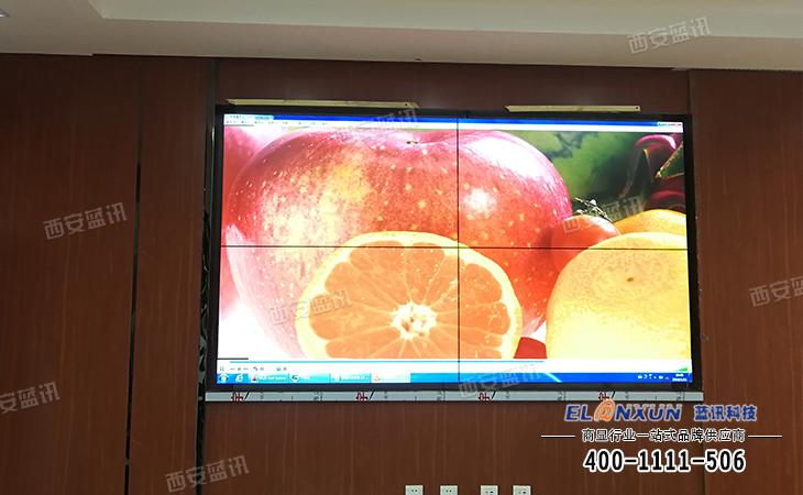 中国人民银行多媒体展示系统部署西安蓝讯大屏幕拼接系统
