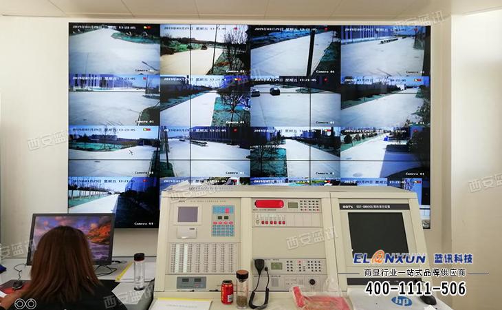 工厂厂区视频监控系统部署蓝讯液晶拼接监控系统