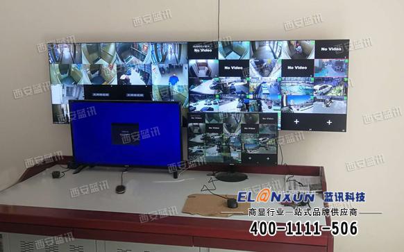 甘肃省兰州市某小区监控系统项目
