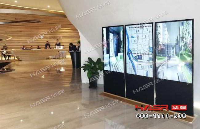 万莱逸宸售楼部55寸立式液晶广告机项目