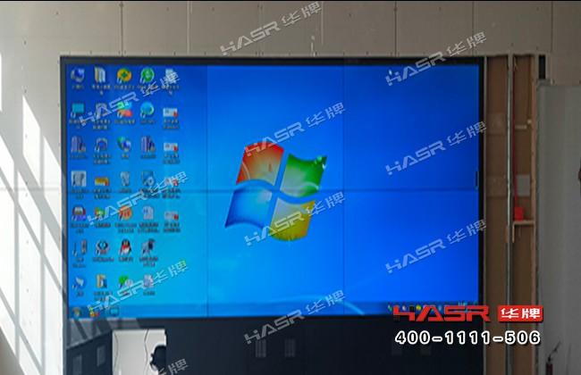 杂多县气象局55寸2X3液晶拼接屏项目