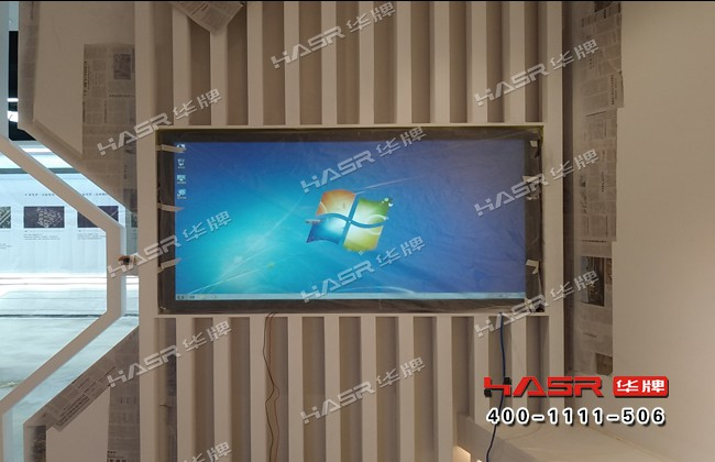 泰发祥集团55寸壁挂液晶广告机项目