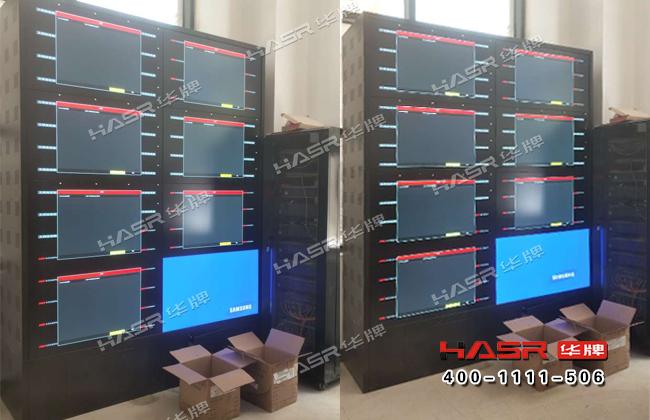宝鸡姜源华府监控室46寸液晶拼接屏项目