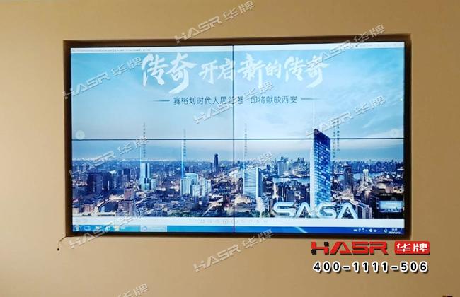 渭南供电研究院55寸拼接屏项目