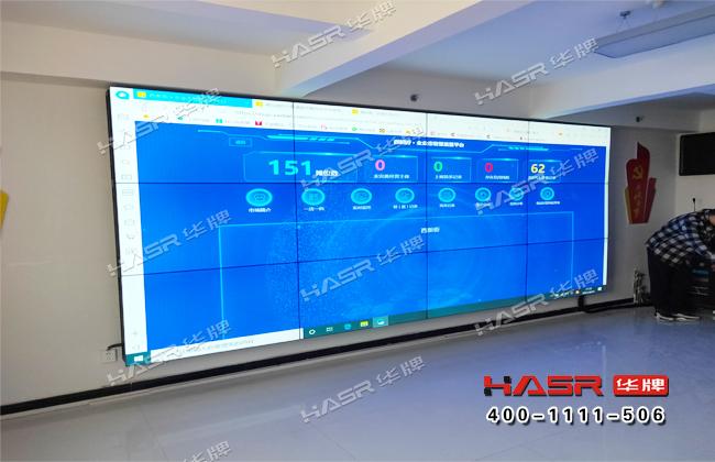 靖边市场监督管理局55寸拼接屏项目